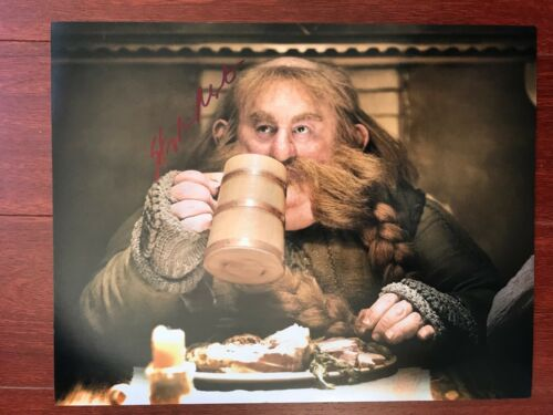 The Hobbit Stephen Hunter Autographed Signed 11x14 Photo COA #6
