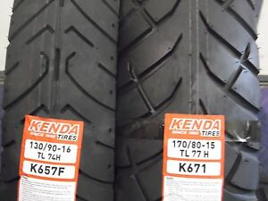 SUZUKI VL800 VOLUSIA /BOULEVARD TIRE SET MOTORCYCLE TIRES 130/90-16 170/80-15