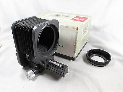 LEICA M BELLOW W/BOX AND M39 SCREW MOUNT LENS ADAPTER L@@K