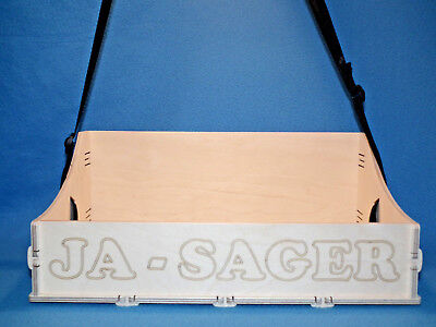 JGA Holz Bauchladen mit Beschriftung  Ja Sager Junggesellenabschied Hochzeit