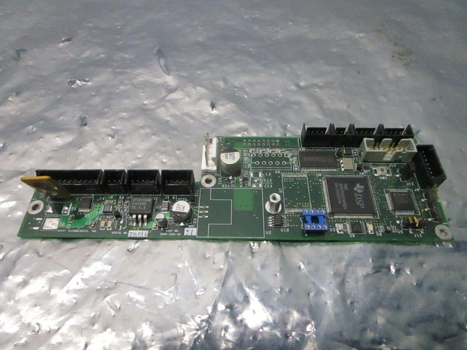 Asyst 3200-1251-01 Door Controller Board, PCB, FAB 3000-1251-01, 101183