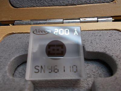 Veeco Calibration Standard 200 Angstrom Dektak.