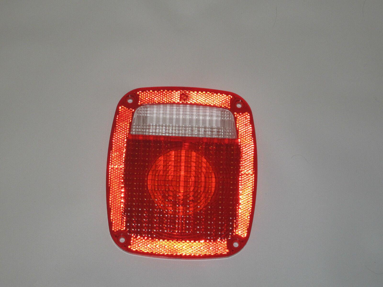 Jeep Tail Light Lenses : Jeep cj yj tj wrangler tail light lens  new
