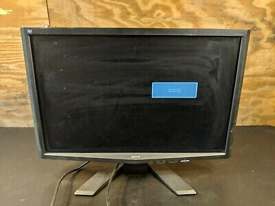 "Acer X223W Dbd Widescreen 22"" LCD Monitor w/ power cord"