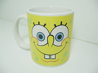 Spongebob Squarepants Cup Mug Viacom 2005 Coffee Tea Yellow (Spongebob Cup)