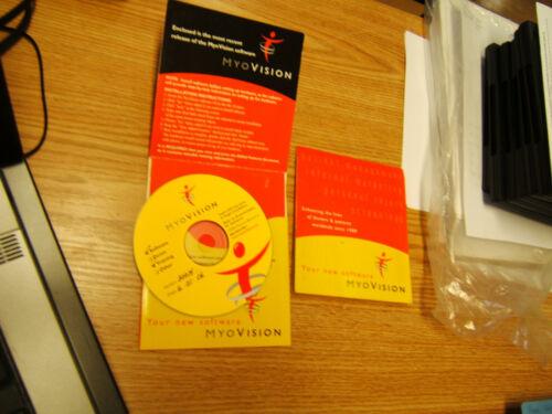 Myovision 8000 Software CD, Chiropractic, Chiropractor. also works w/ 3000,4000