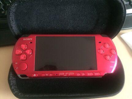 Sony PSP 3002 Radiant Red