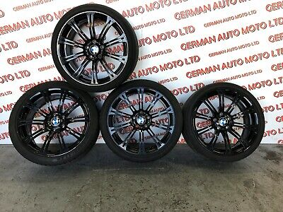 GENUINE BMW M3 E92 19INCH BLACK ALLOY WHEELS