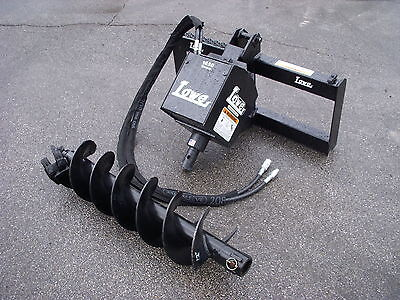Bobcat Skid Steer Attachment Lowe 1650 Classic Auger Drive 12 Bit - Ship 199