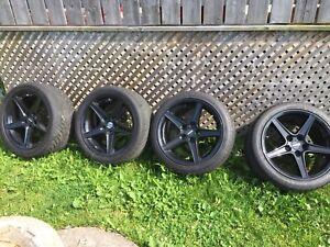 """18"""" Saleen wheels"""