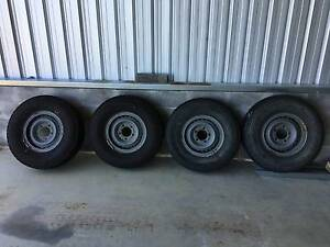 Toyota Land Cruiser rims & wheels Dungog Dungog Area Preview