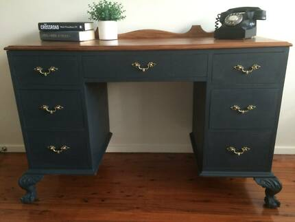Beautiful Annie Sloan painted dresser, desk, drawers Frenchs Forest Warringah Area Preview