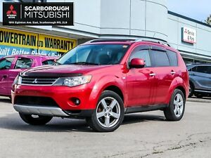 2008 Mitsubishi Outlander XLS S-AWC LEATHER SUN ROOF PWR GRUOP