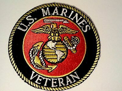 "United States Marine Corps Veteran Patch 3"""