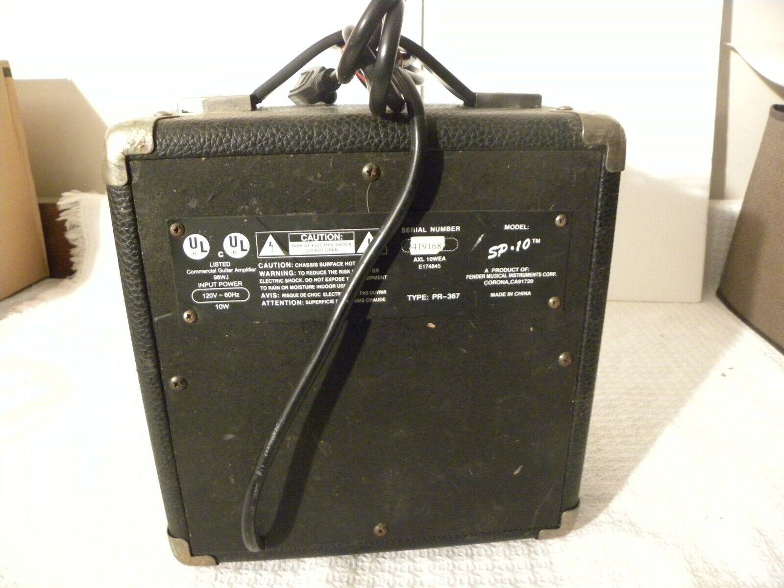 Vintage Fender Squier SP 10 Amp - $45.00