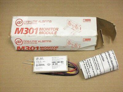 New Firelite M301 Mini Monitor Module Fire Alarm