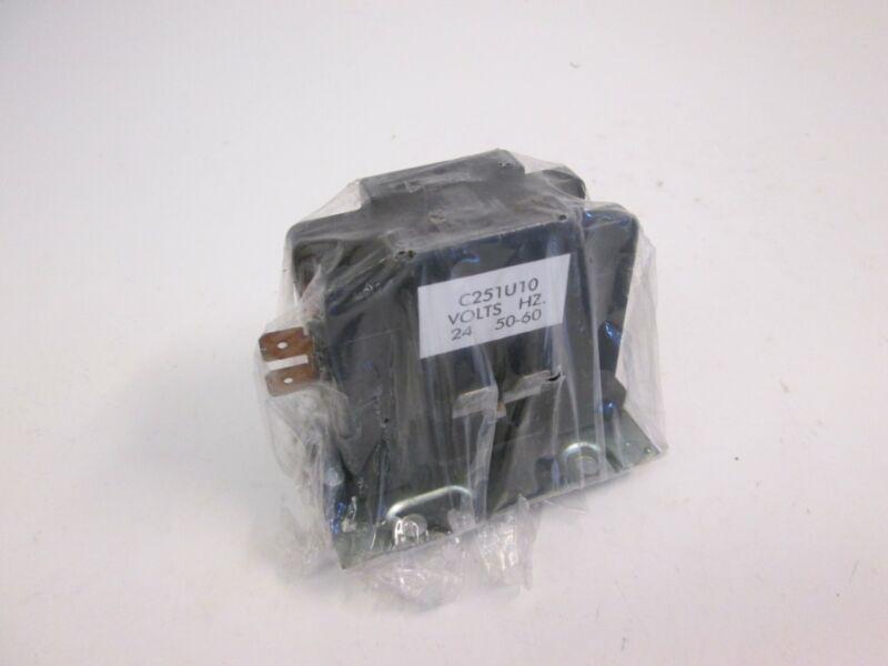 Arrow Hart Contactor C251U10, 24V, 50/60Hz, New