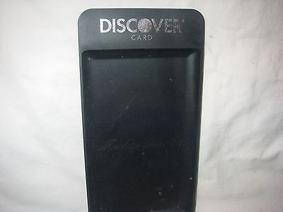Discover Card Plastic Muchas Gracias Change   Tip Tray Unused