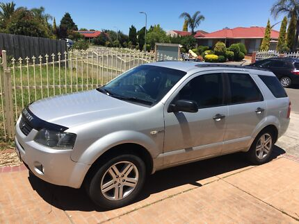 FORD TERRITORY 7 SEAT LPG RWC DUAL FUEL LOW KMS