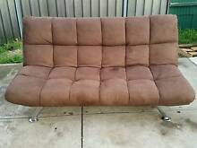 Brown futon St Agnes Tea Tree Gully Area Preview
