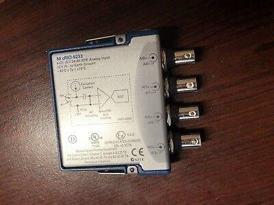 National Instruments Ni-9233 4-channel 5 V 24-bit Iepe Analog Input Module