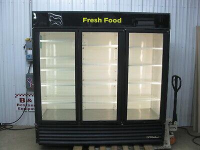 True Gdm-72 Glass 3 Door Merchandiser Reach In Cooler Refrigerator