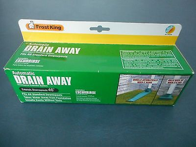 Frost King Automatic Drain Downspout Extenders Extends Downspouts 46 Inches