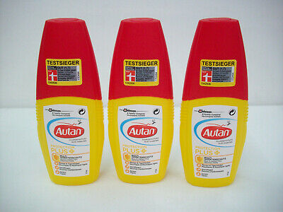 1 x Set- 3 x Autan Protection Plus- Multi Insektenschutzspray-100ml pro Stück