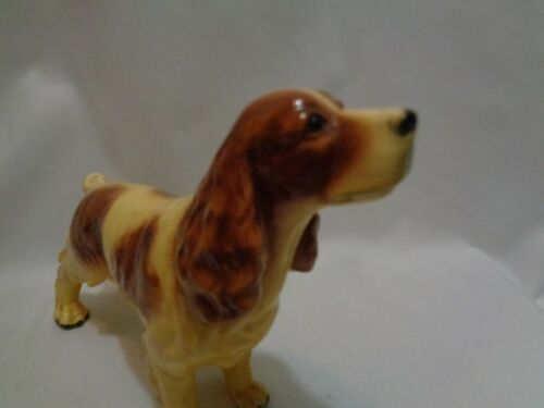 1950s Mid Century Mortens Studio Standing Spaniel Dog Large Size As Found