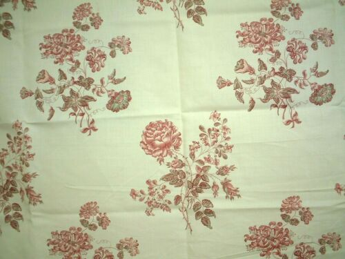 COLEFAX & FOWLER FABRIC LANGTON - RED