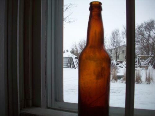 Vintage Schlitz Embossed Beer Bottle