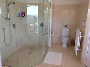 Shower glass, frameless, Paid $2581, SELL $499, Great Condition Ashgrove Brisbane North West Preview