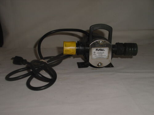 Flotec Motor Operated Water Pump Thermally Protected