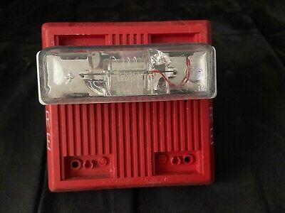 Wheelock Mt-241575w Fire Alarm Multi-tone Hornstrobe