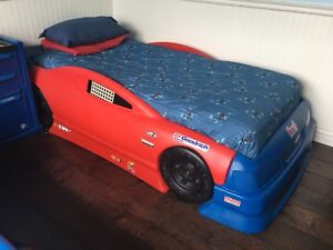 Step 2 race car bed and dresser