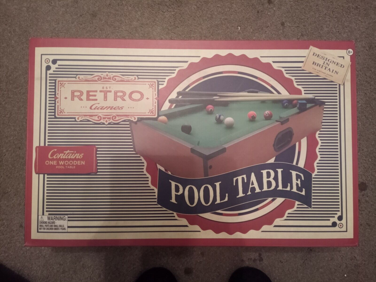 Pool table - table top