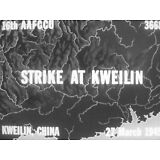 16mm FILM  WWII 1945 COMBAT BULLETIN  AIR STRIKE IN CHINA & JET AIRCRAFT MOVIE