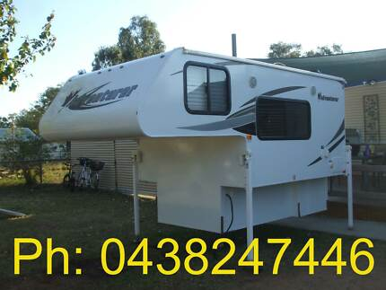 Hard Top Slide on Camper with Shower, Toilet & Slide Out Kitchen Charleville Murweh Area Preview