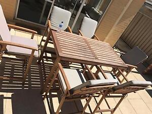 Segals Outdoor Table 6 chairs and Cushions Caversham Swan Area Preview