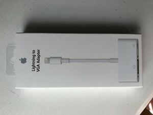 Apple. Lightening to VGA adaptor