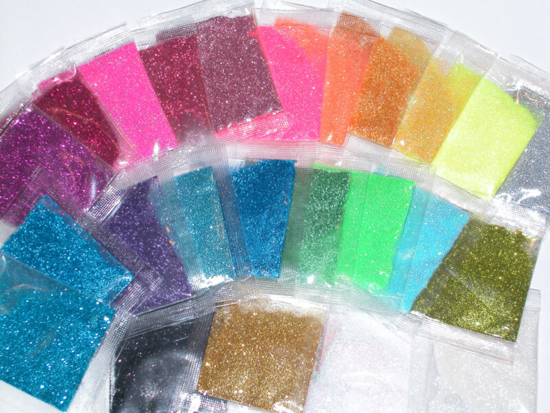 1 bag of Sparkly Fairy dust glitter for glass bottle vials pick your colors*~