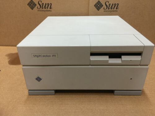 SUN SPARCstation IPX 40Mhz,64mbRAM,1.05gb Drive,Floppy,GX Graphic *Test-PASS*