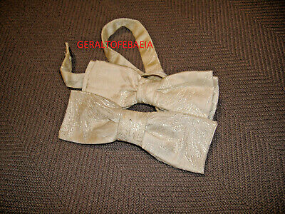1950s Men's Ties, Bow Ties – Vintage, Skinny, Knit ORMOND BOW TIE, WHITE SILVER, VINTAGE RETRO 1950'S $19.98 AT vintagedancer.com
