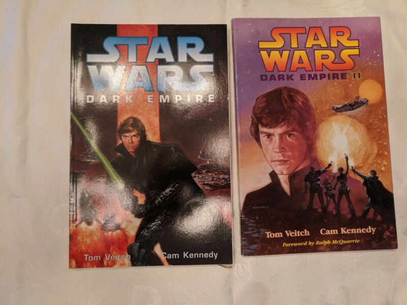 Star Wars Dark Empire Lot Comics