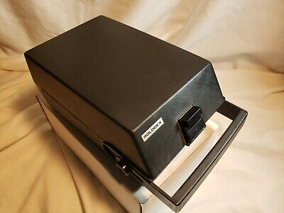 Vintage Rolodex Rc-24 Card Holder Alpha Tabs And Handle Nice Shape