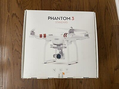 DJI Phantom 3 Archetype Quadcopter Camera Drone - White