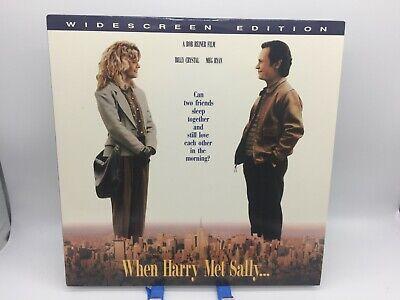 """When Harry Met Sally"" Widescreen Laserdisc LD - Billy Crystal & Meg Ryan"