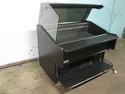 Southern Hd Commercial Open Lighted 51w Refrigerated Produce Display Cooler