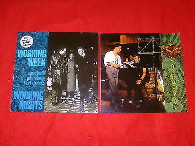 "2 mal Working Week Working Nights FOC incl. free 12"" Limited Companeros Vinyl LP"