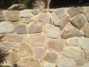 Sandstone rocks 30 square meters  Man-handable sizes Mount Coolum Maroochydore Area Preview